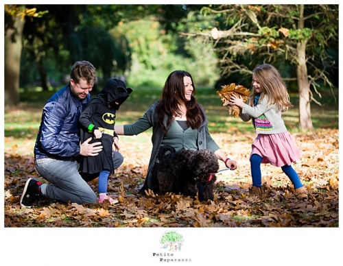 west sussex family photographer autumn leaves